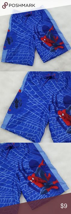 Marvel Spiderman swim trunks 👜Excellent condition Spiderman Swim Swim Trunks