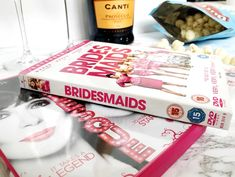chick flick, film, movie, Bridesmaids, Burlesque, sex and the city, prosecco, popcorn Chick Flick Movies, Chick Flicks, Flat Lay Photography, Prosecco, Film Movie, Burlesque, Popcorn, Bridesmaids, Gift Wrapping