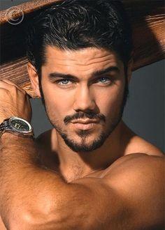 Beautiful Men Faces, Gorgeous Men, Pretty Men, Hairy Men, Bearded Men, Ryan Paevey, Bronze Skin, Handsome Faces, Handsome Man
