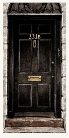 Nick Derington is raising funds for Baker Street - A hand printed Sherlock Holmes poster on Kickstarter! Celebrate the great detective with a screen printed poster of the most famous address in London -- Baker Street! Sherlock Tumblr, Sherlock John, Sherlock Holmes Bbc, Benedict Sherlock, Shinee Sherlock, Sherlock Holmes Wallpaper, Sherlock Holmes Dibujos, Fan Art Sherlock, Sherlock Poster