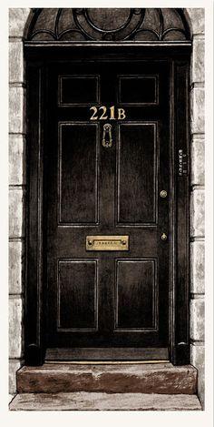 '221b Baker Street' | by Nick Derington | Sherlock