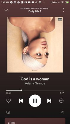 God is a woman, a song by Ariana Grande on Spotify Happy Music Video, Music Video Song, Music Lyrics, Music Songs, Music Videos, Music Mood, Mood Songs, Music Album Covers, Music Albums