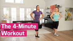 The 4-Minute Workout