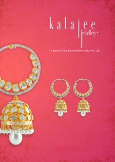Jhumkas for the new brides !! #jewelry #Jaipur #Kalajee