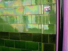 Pub exterior tiles by Mockduck, via Flickr
