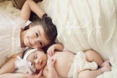 Pretty newborn girl session