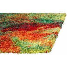 Karpet Picasso. Een kleurrijk hoogpolig vloerkleed. Afmeting 133x190. Verkrijgbaar in diverse afmetingen.