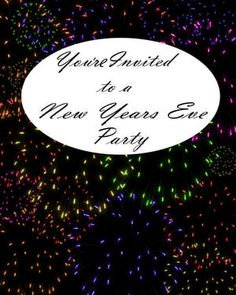 printable new years eve border use the border in microsoft word