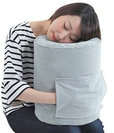 SmartTravel Travel Pillow Compact Inflatable Flight Sleep Pillow and Air Foot rest Dual use L size (for those more than tall)) Travel Pillow Airplane, Neck Pillow Travel, Travel Pillows, Neck Support Pillow, Support Pillows, Baby On Plane, Long Flight Tips, Sleeping On A Plane, Red Eye Flight