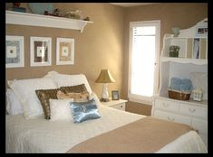My guestroom decorated on a shoestring!