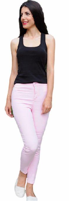Toz Pembe Pantolon | Modelleri ve Uygun Fiyat Avantajıyla | Modabenle