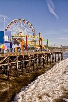 Santa Monica Pier - been there but would like to go back