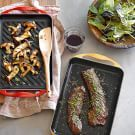 Try the Grilled Steak and Mushroom Salad Recipe on williams-sonoma.com/