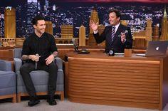 Adam Levine imitates Michael Jackson and more on The Tonight Show   OK! Magazine