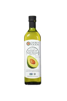 Avocado Oil is a healthier option to use in cooking oil and salad dressings. *this is an affiliate link Nutrition Education, Fitness Nutrition, Cooking Oil, Avocado Oil, Salad Dressings, Healthy Options, Healthy Fats, Vodka Bottle, Pure Products