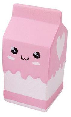 Squishy Melkpak Pink