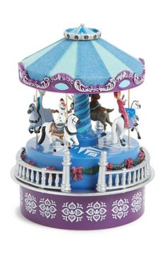 Disney's Frozen Mini Carousel Music Box http://rstyle.me/n/tad7ebh9c7