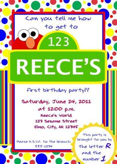 http://uniquescrapdesigns.com/item_56/ELMO-Inspired-Birthday-Party-Invitation-Style-DI2116.htm
