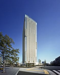 Harumi Residential Tower  / Richard Meier & Partners Architects, © Ishiguro Photographic Institute