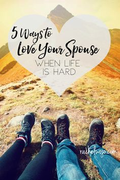 It's only by God's grace that we haven't allowed the trial of Taylor's disease snatch up the love we have for each other.  I've been thinking a long time about these 5 ways to love your spouse when life is hard. The marriage altar is a sacred place of promise where we vow for better or worse.  I hope these purposeful suggestions will provide encouragement to you to keep on loving each other, even, and especially, when life is hard.
