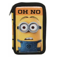 Minions Double Tier Filled Pencil Case