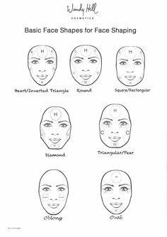27 Best Pear Triangle Face Images Contouring Face Contouring
