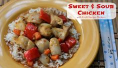 Sweet and Sour Chicken: Easy Meals with Kraft Recipe Makers #cbias #shop #KraftRecipeMakers