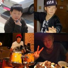 Eye Candy: Adorable childhood photos of YG Entertainment artists Kim Jinhwan, Chanwoo Ikon, Bobby Holup, Ikon Member, Boys Republic, Ikon Debut, Ikon Wallpaper, Double B, Boy Idols