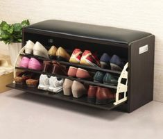 Online Shop 2015 High Quality Shoe Cabinet Shoes Racks Storage Large Capacity Home Furniture DIY Simple Fashion Layers Shoe Storage Stool, Shoe Storage Cabinet, Diy Storage, Storage Ideas, Wood Storage, Shoe Cabinet Design, Shoe Storage Solutions, Bedroom Storage, Storage Cabinets