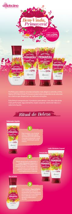 Pandora by Liliana Pinto: Novidades: Nativa Spa Bem Vinda Primavera - o Boti...
