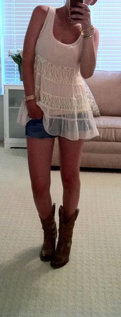 wearing to next country concert. this girls blog is great too....
