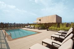 The Roof Pool. StreetEasy: 1280 Fifth Ave. #19G - Condo Apartment Sale at One Museum Mile in Upper Carnegie Hill, Manhattan #outdoorspace #terrace #relaxing #NYC #views #homedecor