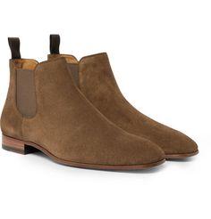 cac774ad372 HUGO BOSS SAFARI SUEDE CHELSEA BOOTS.  hugoboss  shoes   Hugo Boss Shoes