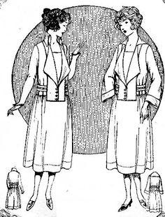 1921 McCall dress pattern