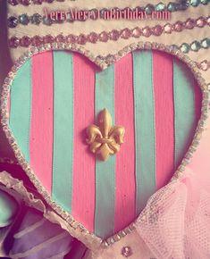 Last peek of my upcoming #handmade #FrenchMaid costume! #Soirée #pink #aquamarine #StValentines #Valentines #champagne #fleurdelis #stripes #French #pastels #rhinestones #sandiego #lajolla #missionbeach #pacificbeach