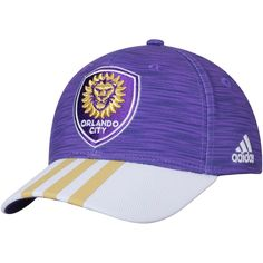 6979e204ee9fd Gear up for game day the true Orlando City SC way with this electrifying  Jersey Hook flex hat from adidas. You ll feel like the most dedicated Orlando  City ...