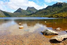 Cradle Mountain Orange Dove - prints and downloads available