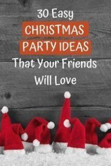 Christmas Dinner Party Games, Christmas Party Games For Groups, Adult Christmas Party, Holiday Party Themes, Office Holiday Party, Simple Christmas, Ideas Party, Christmas Ideas, Dinner Party Ideas For Adults