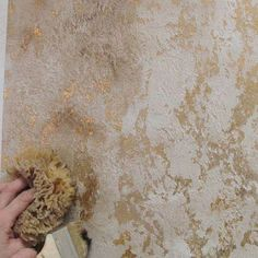 Picture result for gold metallic paint for walls - . Picture result for gold metallic paint for walls – # …- Image res Faux Walls, Textured Walls, Home Design, Wall Design, Metallic Paint Walls, Gold Painted Walls, Metallic Gold, Gold Foil, Paint Designs