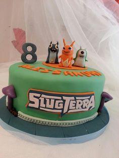 #Slug terra #cake#fondant