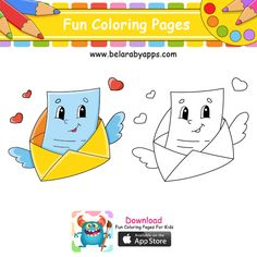 رسومات اطفال كيوت للتلوين - رسم أطفال سهل وجميل ⋆ بالعربي نتعلم