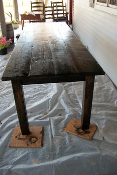 Elegant Love The Reclaimed Top, Looks Narrow And Long Reclaimed Heart Pine Harvest  Table