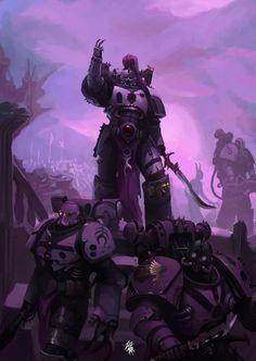 Warhammer Lore, Warhammer Models, Warhammer Fantasy, Warhammer 40000, Character Concept, Character Design, Chaos 40k, Planets Wallpaper, Space Marine
