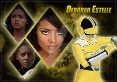 Deborah Estelle (Yellow Ranger) by AndieMasterson on DeviantArt Power Rangers Memes, Power Rangers Time Force, Superhero Tv Shows, Power Rengers, Letting Go, Deviantart, Yellow, Video Games, Future