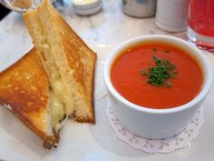 Feeling chilly this fall? Stop by Bouchon in New York City for the perfect grilled cheese and tomato soup made with fresh gruyere and fontina cheese, melted between two thick slices of fresh brioche. You can order anything on the menu and be pleased! Croissant? Check! Almost as good as from France. Macaroons? Check!   Location: New York, New York  Price: Inexpensive