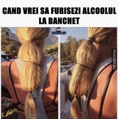 How to sneak in Vodka. Lots of hair required. - Real Funny has the best funny pictures and videos in the Universe! How To Sneak Alcohol, Best Funny Pictures, Funny Photos, Random Pictures, Hiding Alcohol, Tastefully Offensive, Lol, Ponytail, Videos