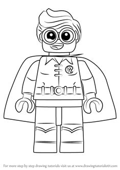 Coloring page for Kids - How To Draw Lego Captain America ...