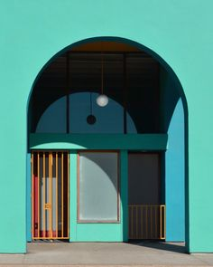 Hayley Eichenbaum's work is guided by the geometry and clean lines of minimalist architecture and design, revealing a mysteriousness beneath flat facades.
