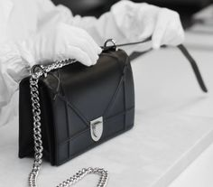 Pinterest: @ Pelin Ozkul Dior's Diorama bag