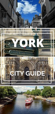 York, England city guide. Don't miss this city in the North of England! With a street that looks just like Diagon Alley in Harry Potter, amazing cafes plus fudge and chocolate shops... York is a dream city!  UK cities | UK travel | Northern England | York England | City guide